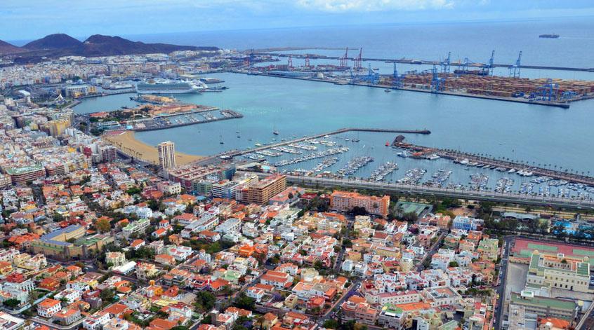 Resultado de imagen de Puerto de La Luz.