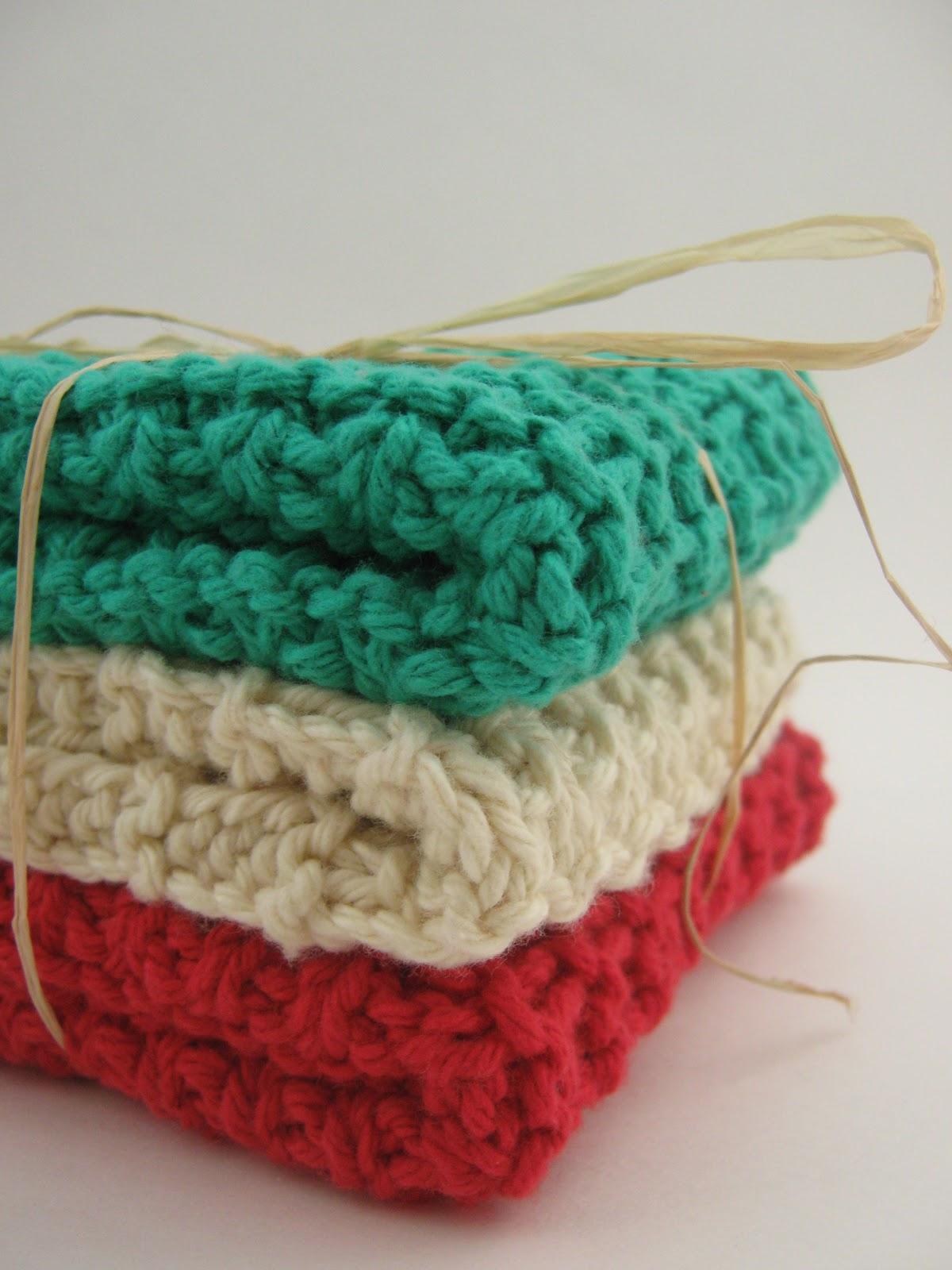Jestti: My Favorite Knit Wash Cloth - Free Pattern