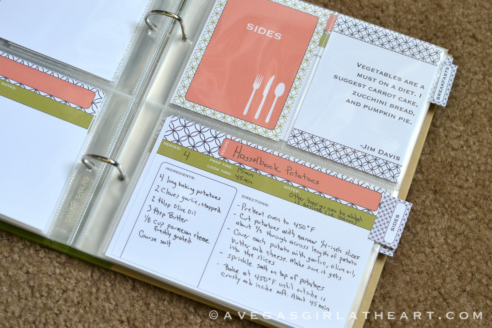 a vegas girl at heart june 1 monthly freebie recipe book printables