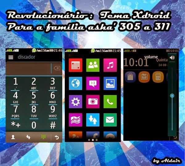Tema Xdroid Untuk Nokia ASHA 205 311
