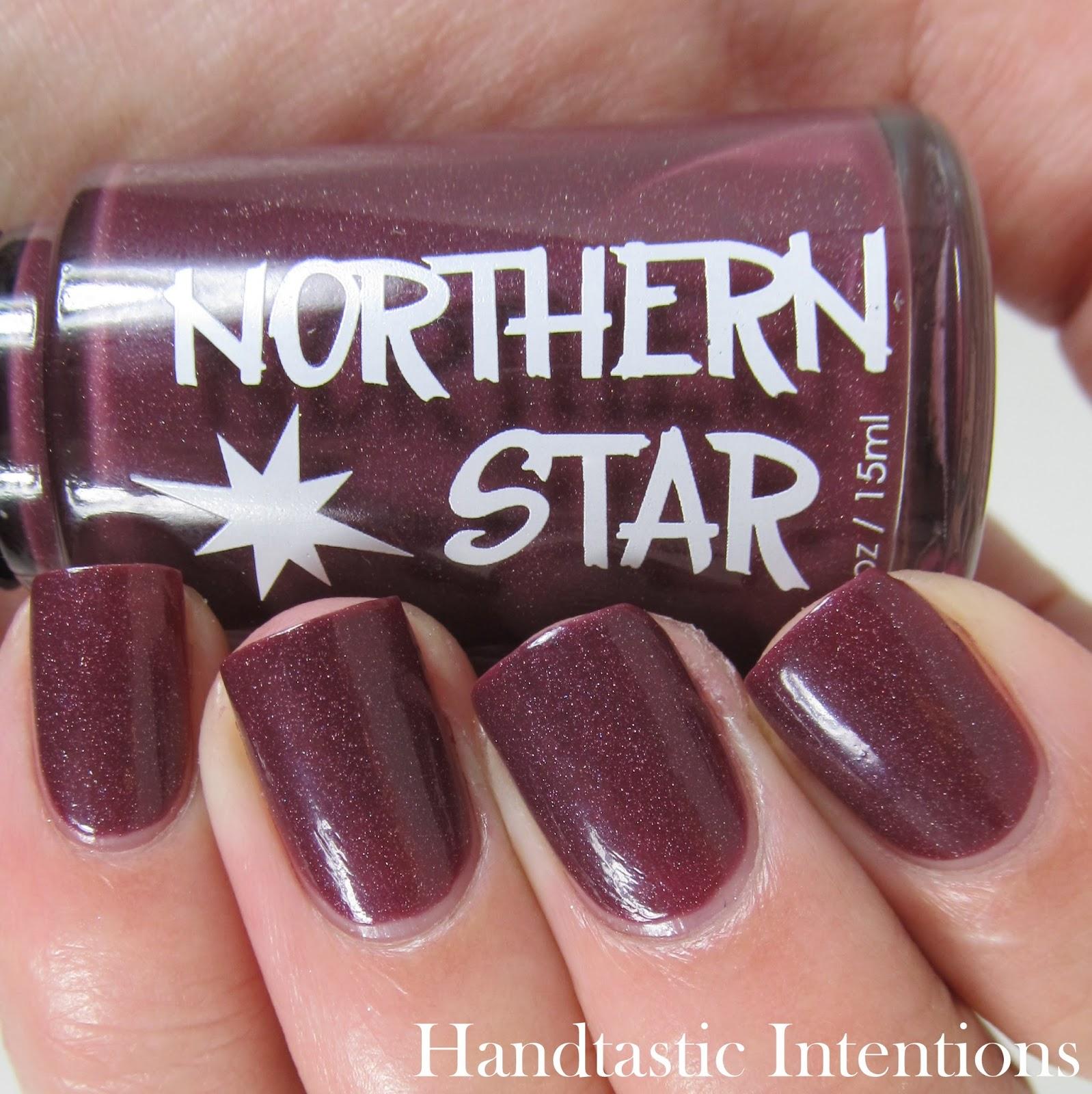 Handtastic Intentions: Northern Star Polish Marsala!