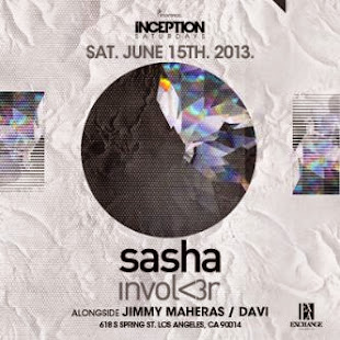 Inception: Sasha at Exchange LA