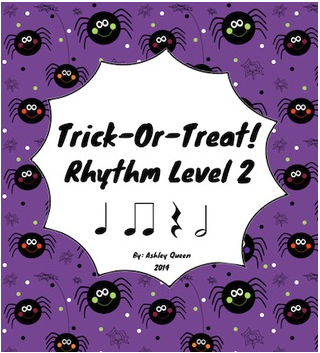 http://www.teacherspayteachers.com/Product/Trick-Or-Treat-Rhythm-Level-2-Ta-Ti-Ti-Shh-Half-Note-1485299