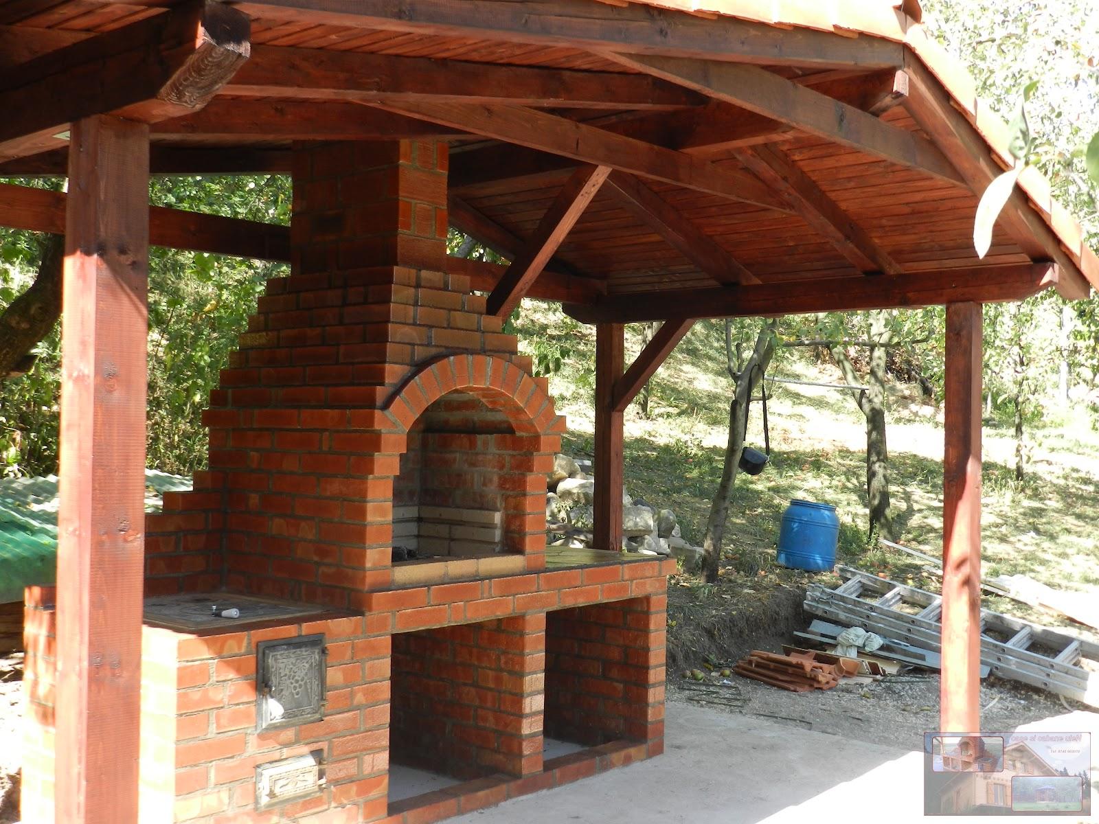 Case si cabane ulen barbeque cuptoare for Gratare de gradina