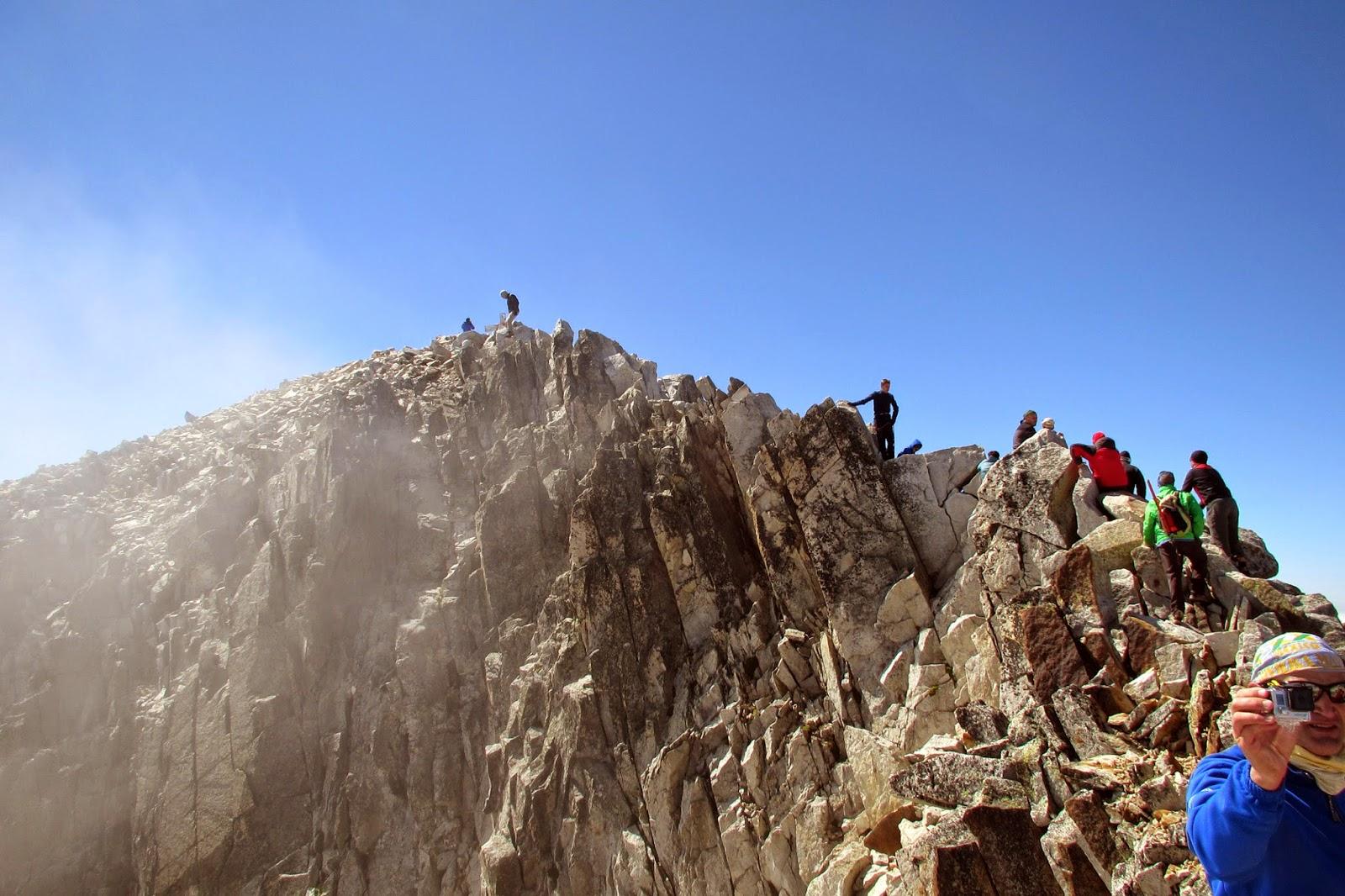 Paso de Mahoma en el Pico Aneto
