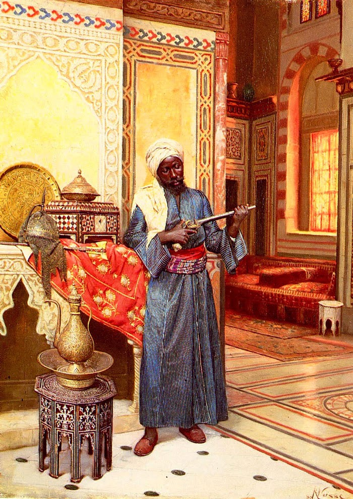 Painting History Harem Guard