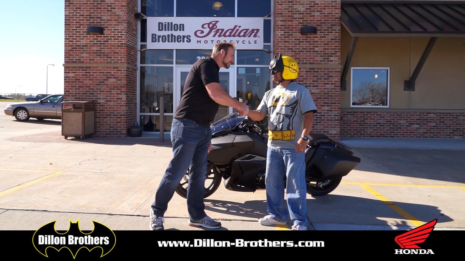 Gary is a super hero Salesman NM4 Honda