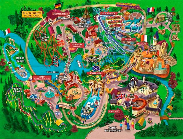 World Visit Busch Gardens Williamsburg