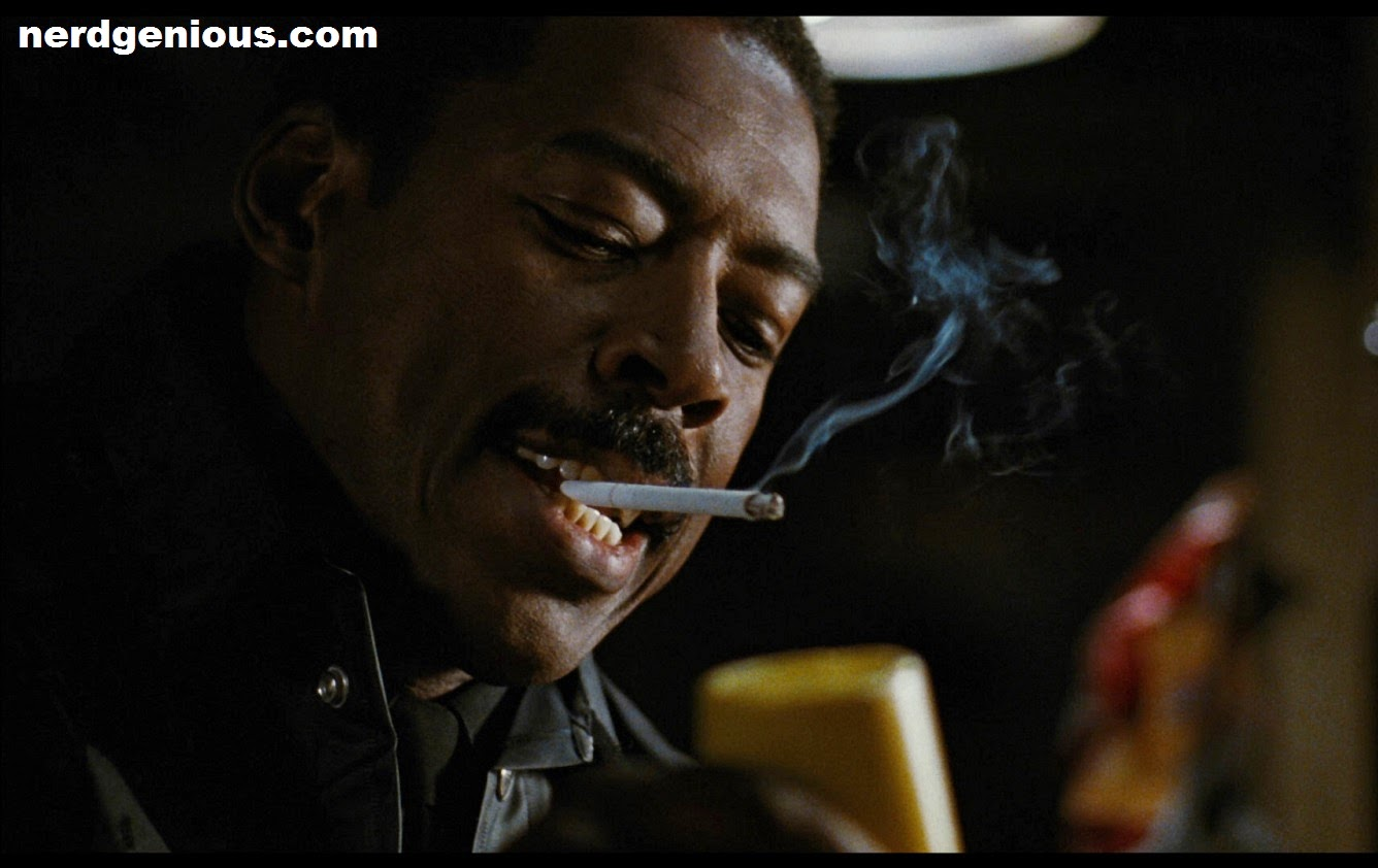 Ghostbuster Winston Zeddmore actor Ernie Hudson co-starring in The Crow with Brandon Lee