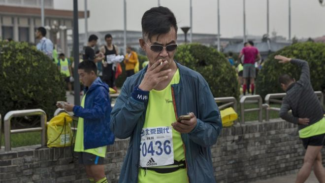 One in three young Chinese men will die from smoking, study says