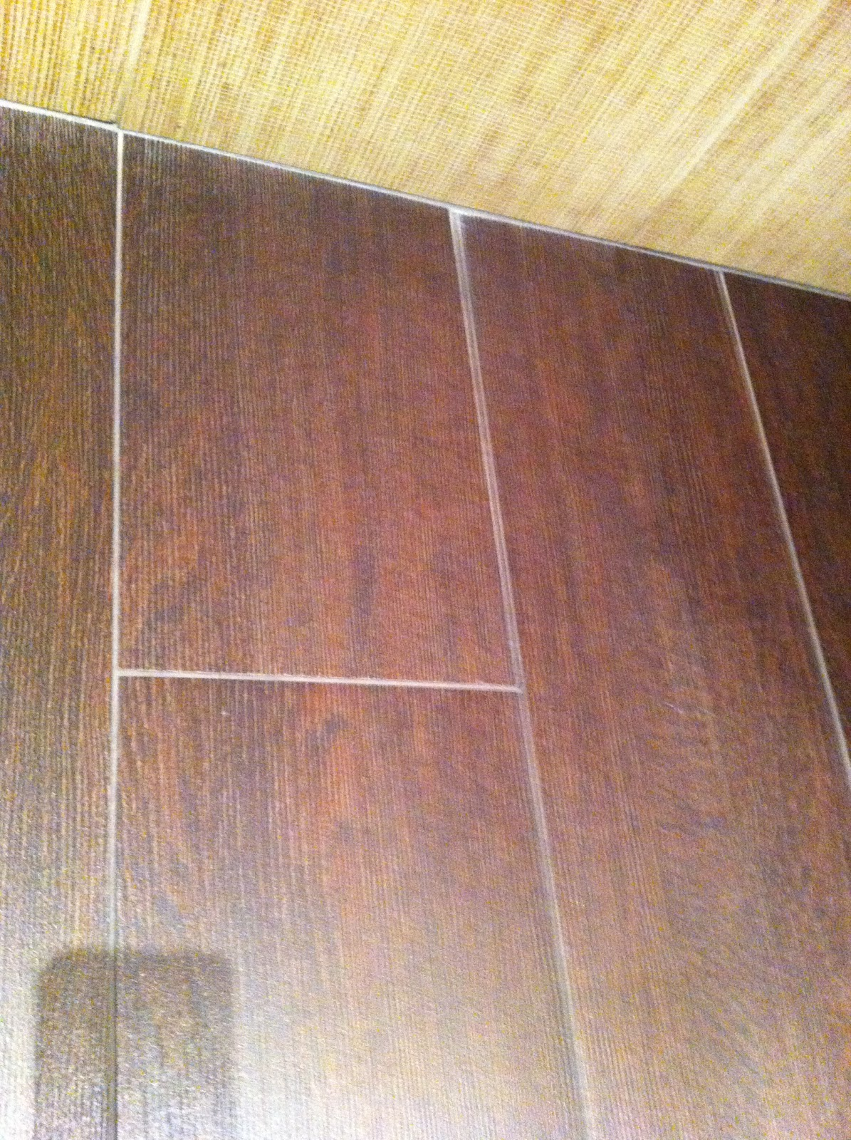 Fake wood flooring in bathroom 2017 2018 best cars reviews for Fake tile floor