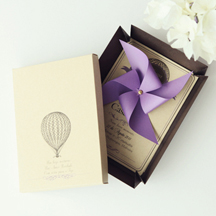 Hot Air Balloon Invitations