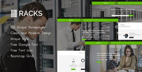 Best Web Hosting PSD Template