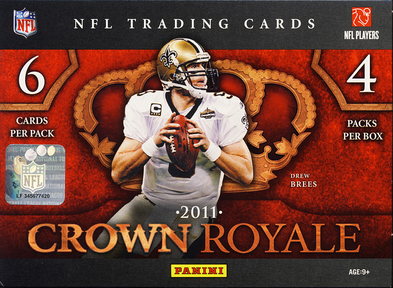 All About Cards: 2011 Panini Crown Royale Football Box Break Recap