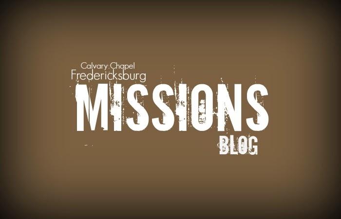 CC Fredericksburg Missions Blog