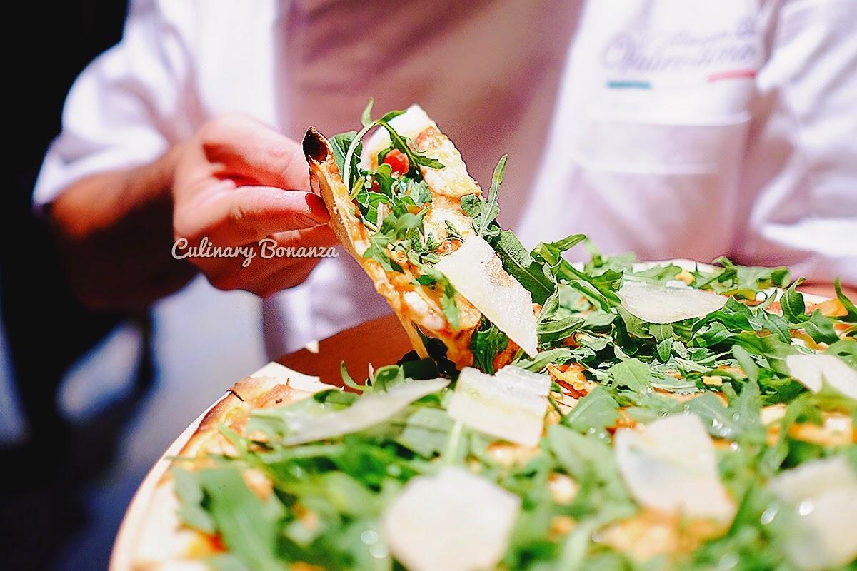 Parma Rucola Porcini Pizza
