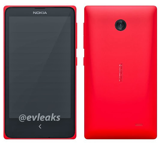 This is the Android phone of Nokia