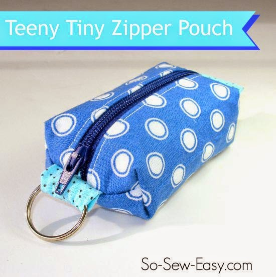 Zipper Pouches Sewing