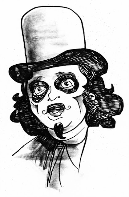 "Rich ""Svengoolie"" Koz by Rob Funderburk"
