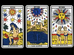Tirada de tres cartas. Tarot de Marsella