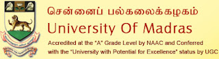2014 Results, Download Madras University Results, MBA 2014 Results