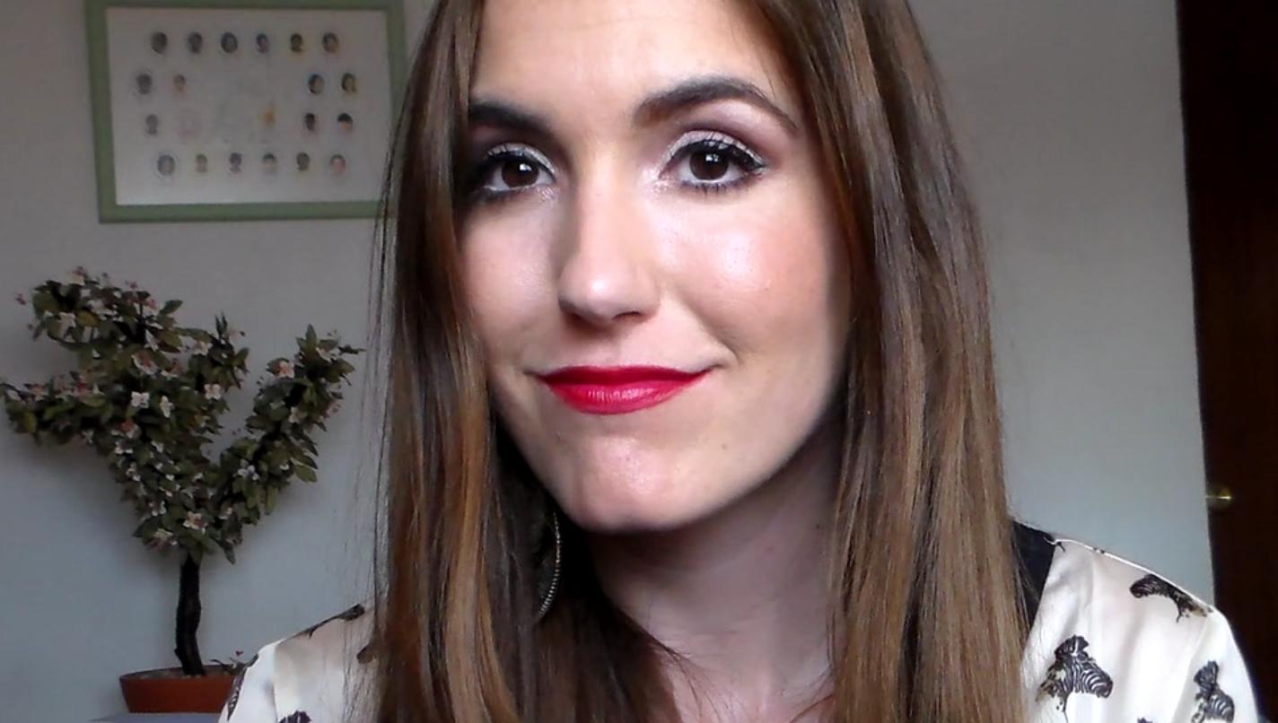 1000y1tendencias: Maquillaje ojo suave boca todo