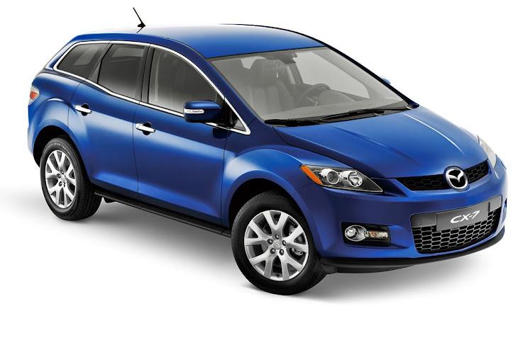 Mazda CX7 [blue]