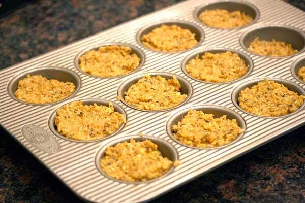 Italian Quinoa Bites in Muffin Tins