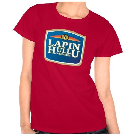 Lapinhullu naisten t-paita