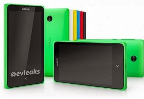 Nokia X, keluarga baru Nokia Android