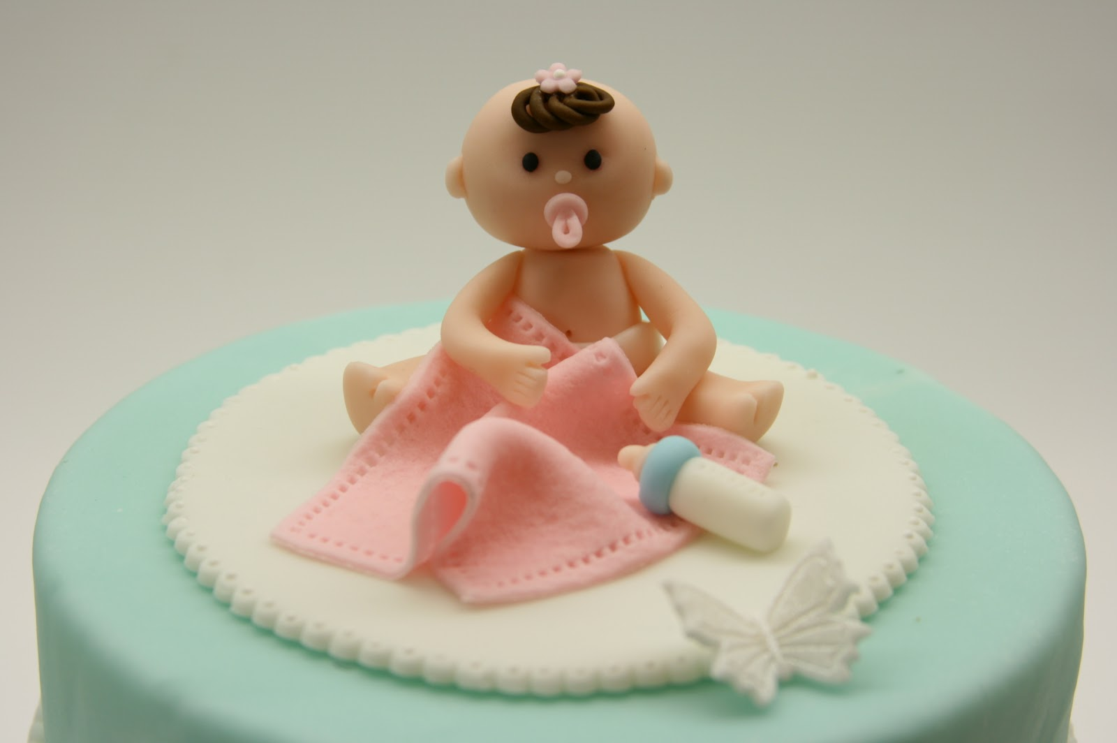 Cake Toppers Baby Girl : Beautiful Kitchen: Baby Girl Cake Topper