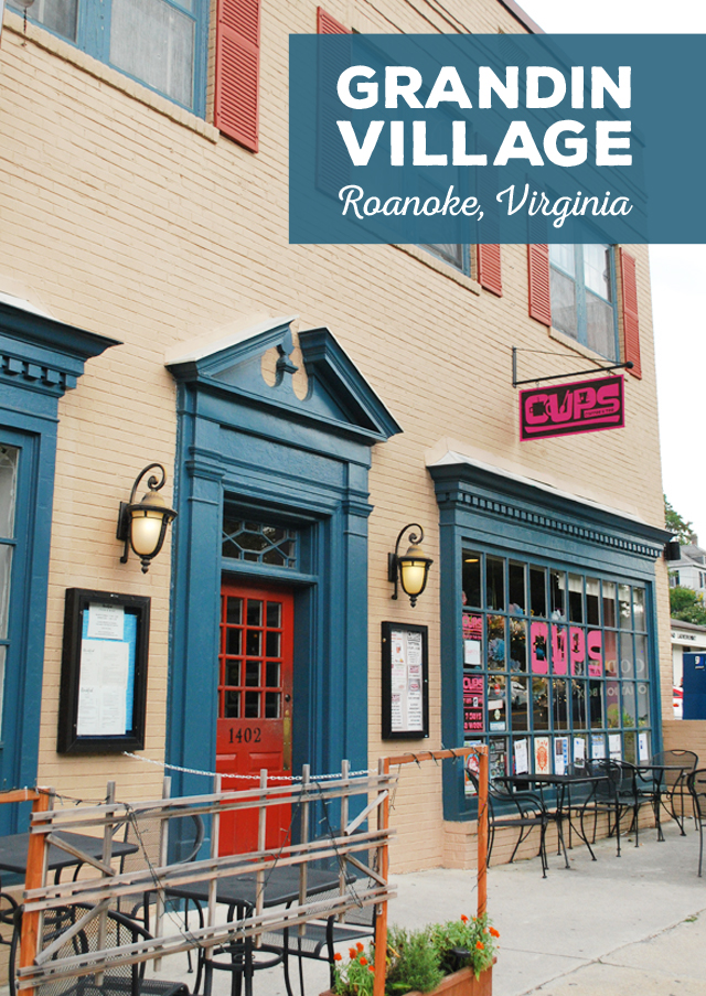 Grandin Village in Roanoke, Virginia | Em Busy Living