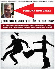 """Sumate a la campaña para que Ortega Smith sea declarado """"persona non grata"""" por la Junta de Tetuán"""