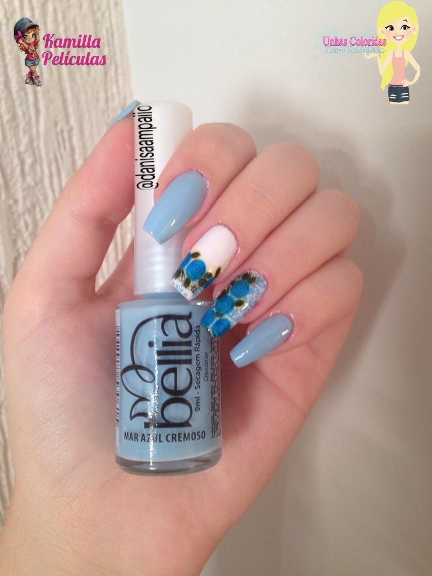 mar azul bellia esmaltes