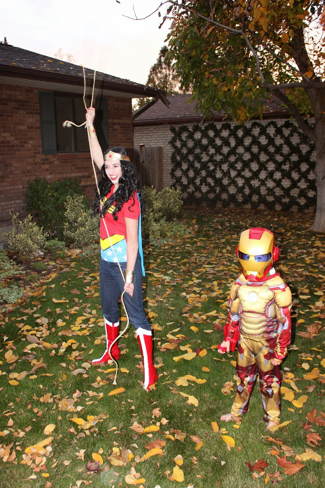 the professor and mary ann superheroes and enforcers halloween 2013