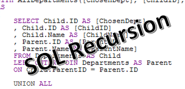 How To Apply Recursive SQL Selections On Hierarchical Data