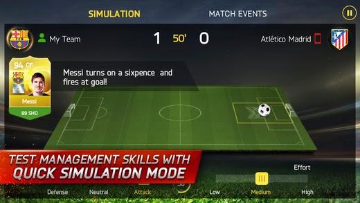 تحميل لعبة كرة القدم الحقيقية فيفا 15 للأندرويد والايفون وويندوز فون FIFA 15 Ultimate Team APK-iOS-xap