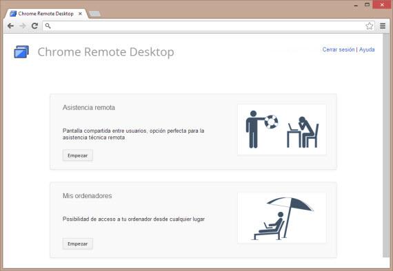 Control remoto para Chrome con Remote Desktop