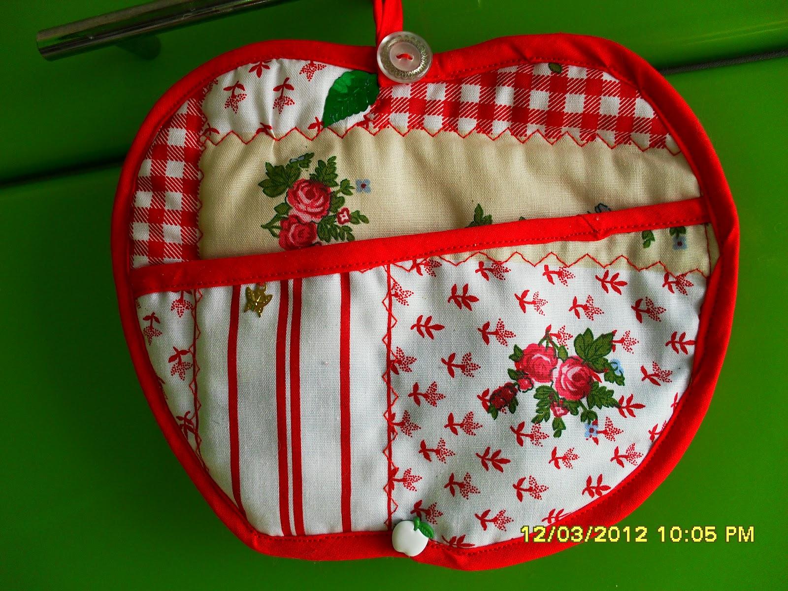 Текстильные штучки для кухни своими руками