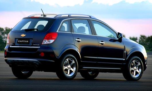 Chevrolet Captiva 2013 Lado