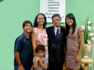 """Minha esposa e filhos """"minha Família"""""""
