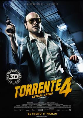 Torrente 4: Lethal Crisis (Crisis Letal) (2011) (Esp) [DvdRip]