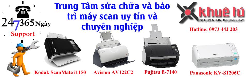 Dịch vụ sửa chữa máy scan - Bảo trì máy scan - Khắc phục sự cố máy scan báo lỗi