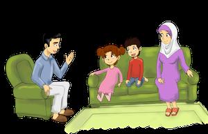 Семья: Этика домашнего поведения