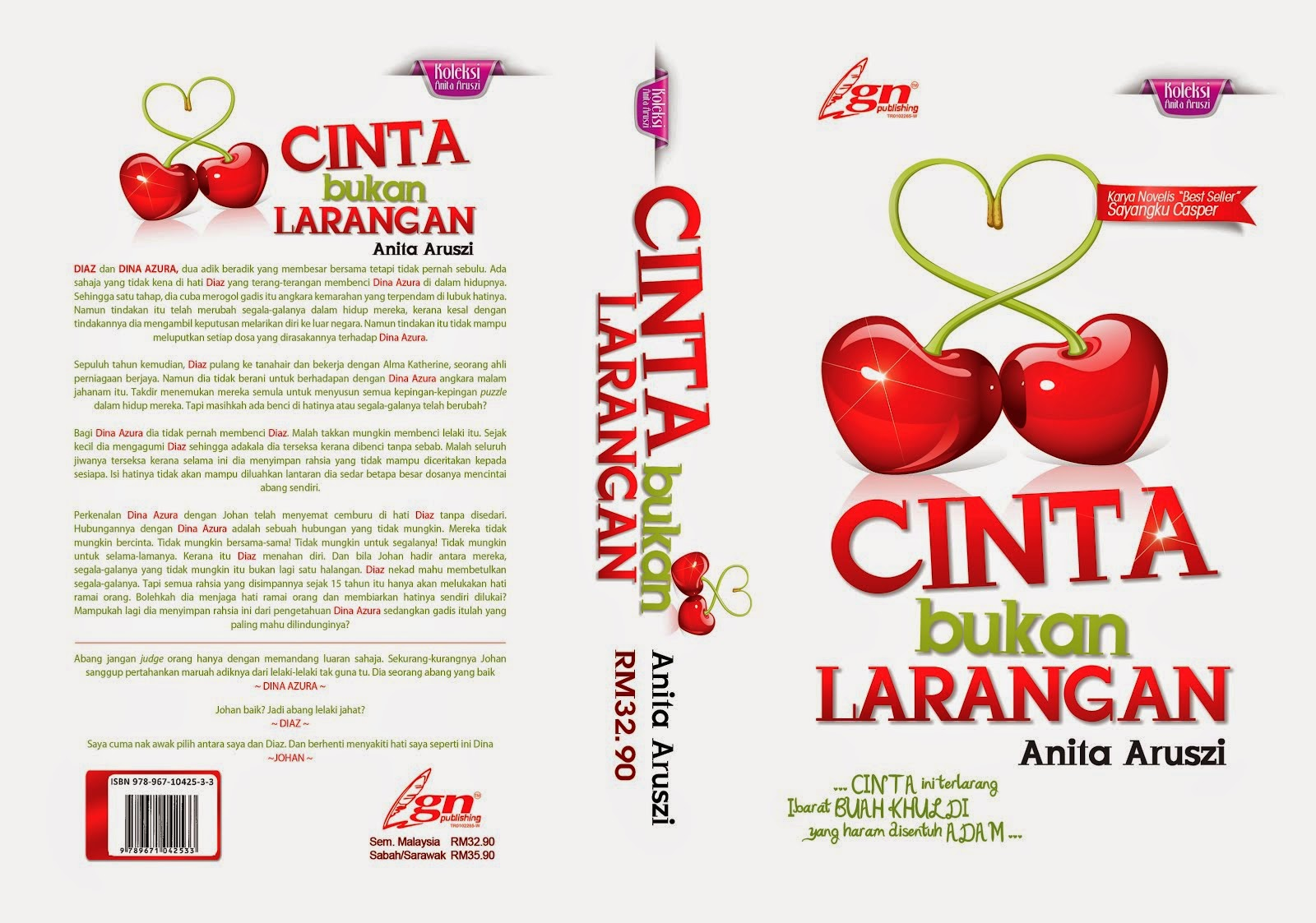 CINTA BUKAN LARANGAN - 2014 ( Limited Edition Only)