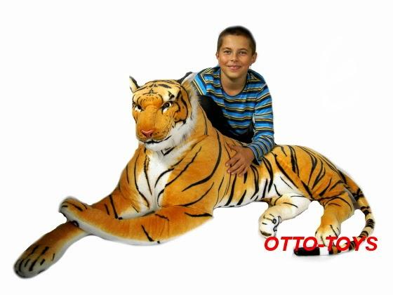 Maxi velký plyšový tygr