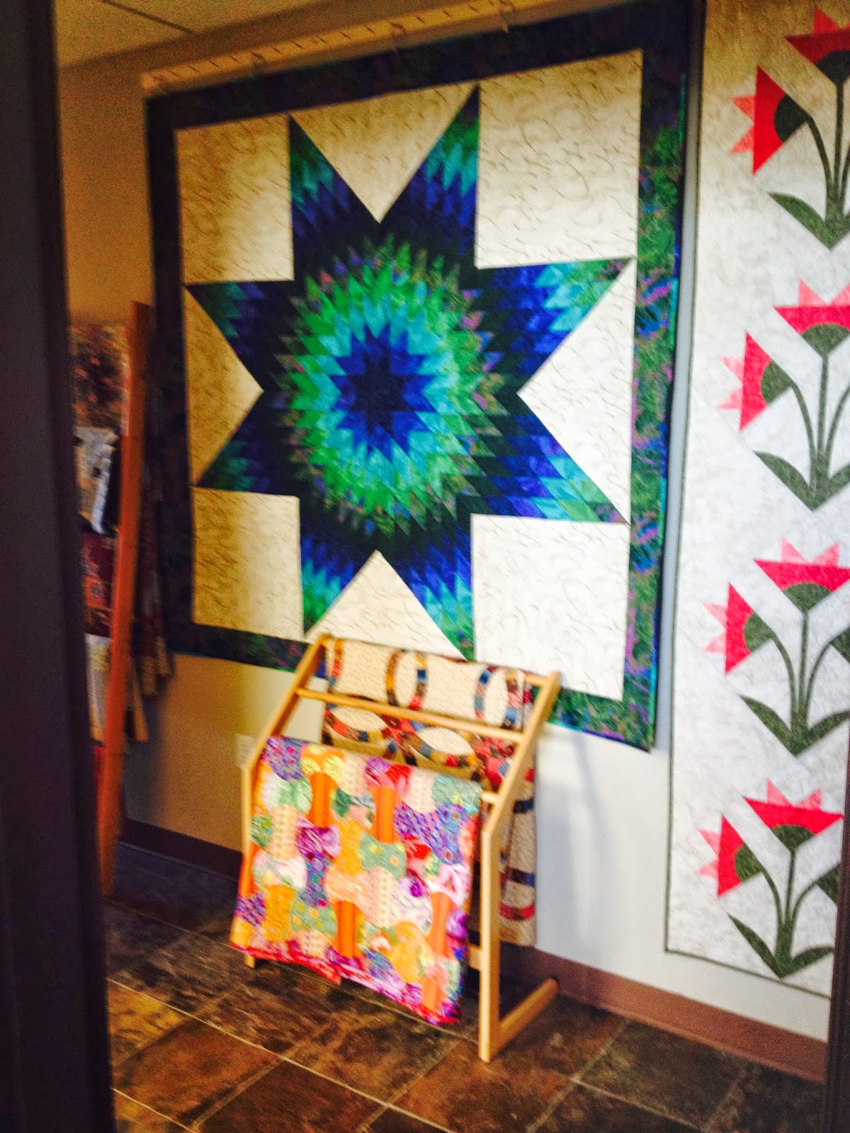 Quiltsmart Lone Star quilt