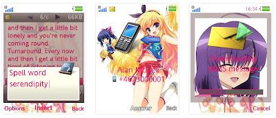 「MM一族」SonyEricsson手機主題for Elm/Hazel/Yari/W20﹝240x320﹞
