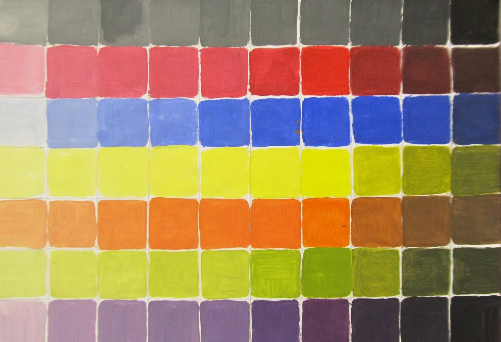 Art Teacher Creature: Monochromatic Painting