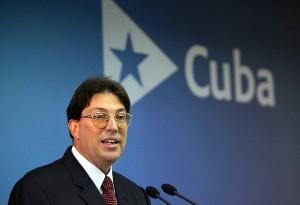 Bruno Rodríguez Parrilla, canciller cubano